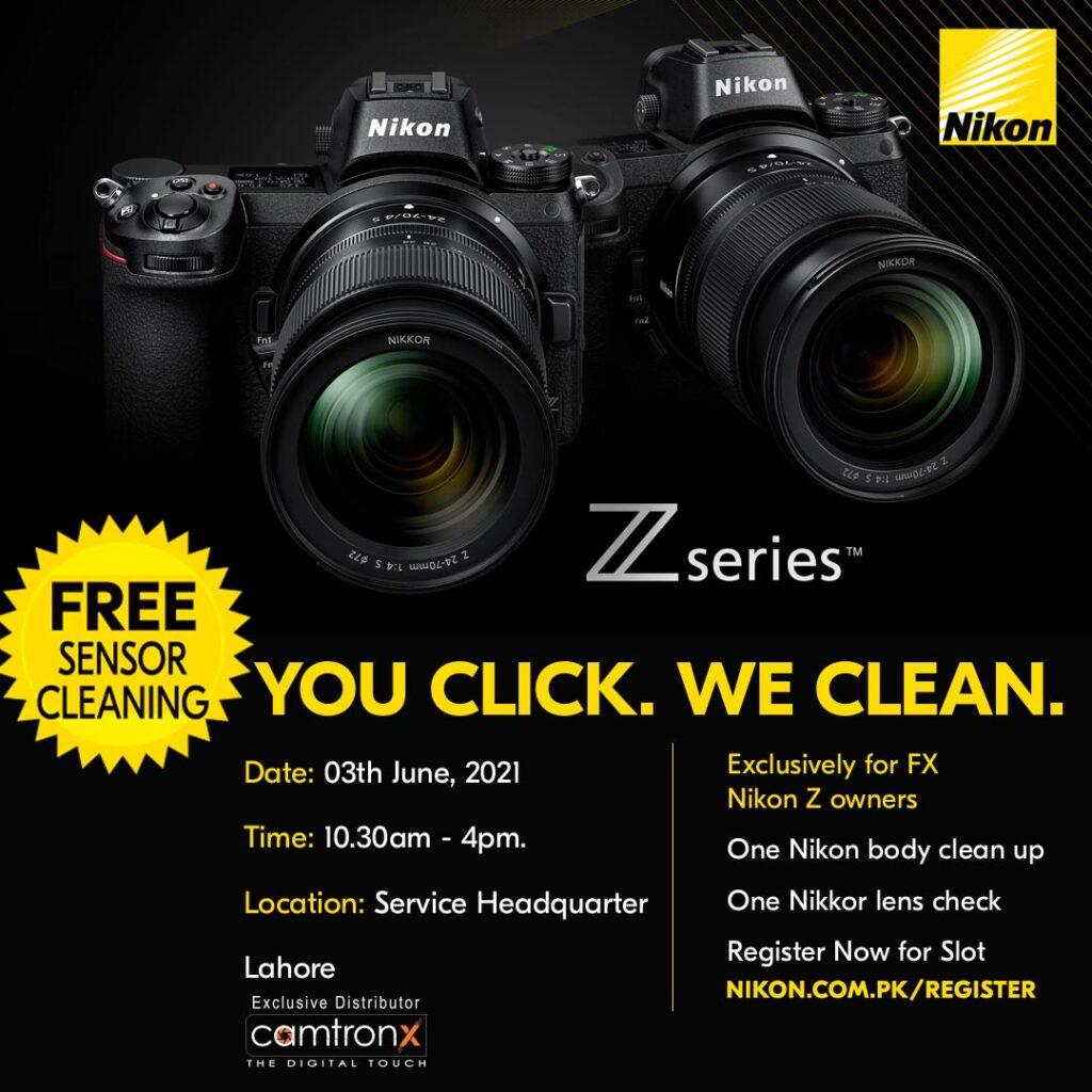 Nikon Sensor Cleaning