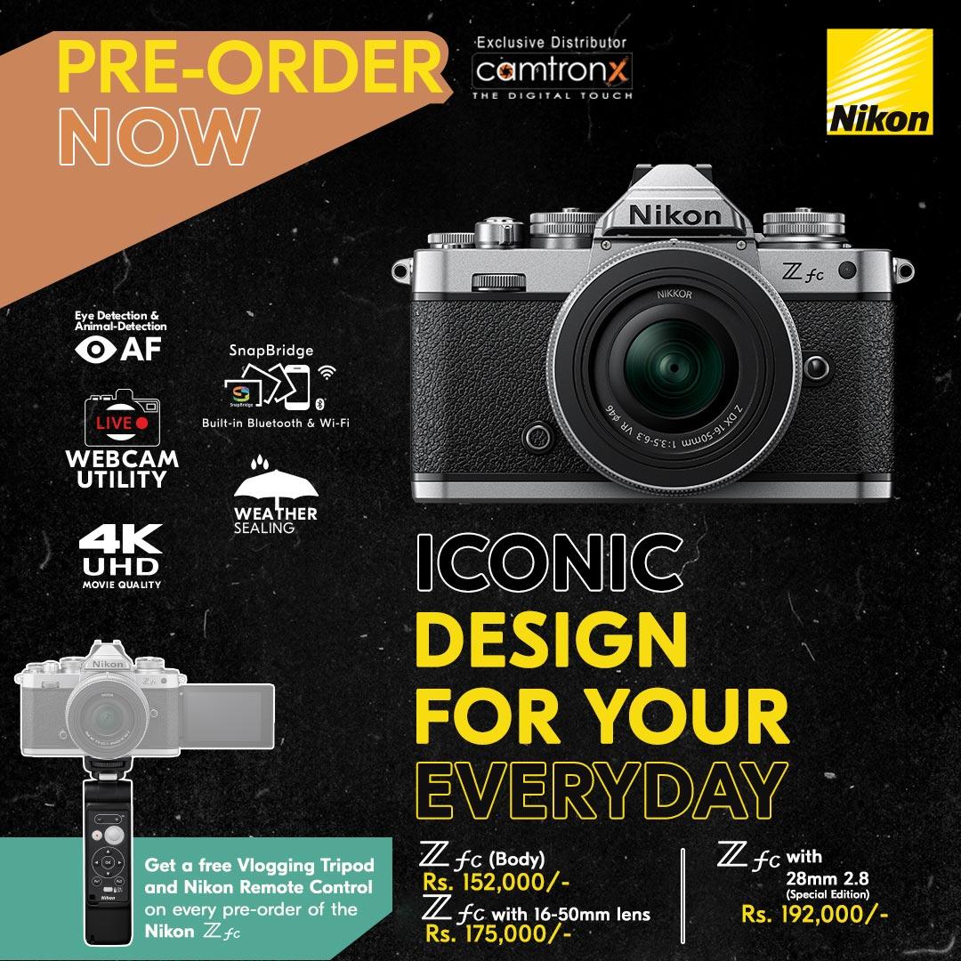 Nikon Zfc Price in Pakistab